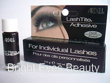 Ardell LashTite Eyelash Lash Adhesive Glue Semi Permanent Dark/clear and Remover Dark