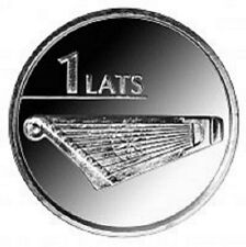 Latvia / Lettland - 1 lat Kokle