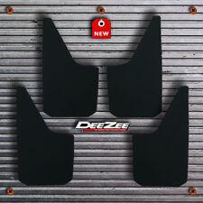 Universal Fit Mud Flaps - Splash Guards - DeeZee - Black Composite - 4 pieces