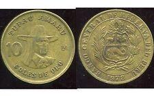PEROU  10  soles de oro 1978