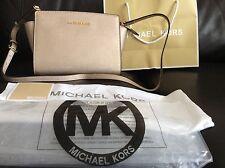 BNWT Michael Kors Gold Selma Medium Messenger Crossbody bag Rrp £220