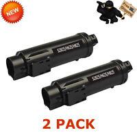 2 PK S2825 2825 BLACK Toner Cartridge For Dell H825 S2825cdn H625 H625cd H825cdw