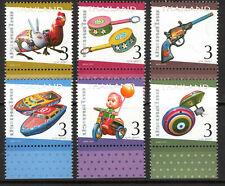 Thailand - 2010 Letter week / Tin toys - Mi. 2952-57 MNH