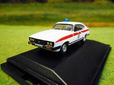 OXFORD FORD CAPRI MK3 MERSEYSIDE POLICE 1/76 BRAND NEW 76CAP007