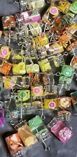 15 Pcs/Set Fruit Bottle Resin Charms Pendant  DIY Jewelry Making 18×10mm glass