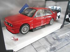 BMW m3 e30 EVO SPORT 1986 ROUGE RED SOLIDO métal neuf 1:18