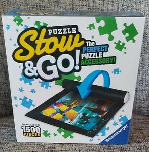 Ravensburger Puzzle Stow And Go Storage System Roll Up Mat 46 X 26 To 1500 PC