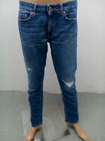 Jeans DondUp Donna Taglia size 30 Pants Woman Pantalon Femme Cotone 8747