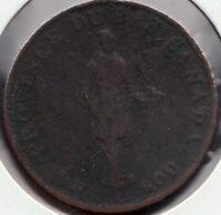 1812 Lower Canada - Quebec Bank - ½ Penny - Superfleas - LC-8B1