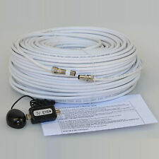 10M White Cable For Sky+ HD TV Link Magic Eye Kit, Everything You Need