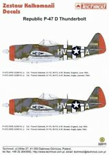 Techmod 1/32 Republic P-47D Thunderbolt Bubbletop # 32011