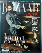 Harper's Bazaar India The Bridal Black Book 2017 Shahid Kapoor