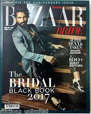 Harper's Bazaar India The Bridal Black Book 2017 Shahid Kapoor
