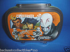 Star Wars Rebels Lunch Box/Snack Box Inquisitor, Kanan, Ezra, Stormtroopers New
