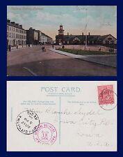 UK NORTHERN IRELAND CO ANTRIM PORTRUSH RAIL STATION 1906 MISS SEYDEL, IOWA CITY