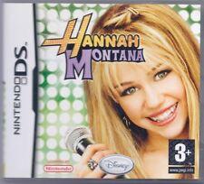 Juego De Nintendo Ds-Hannah Montana-incluye caja original y las instrucciones