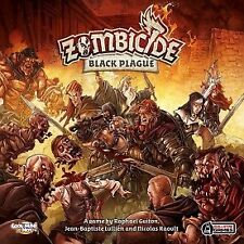 Zombicide Black Plague Board Game Guillotine Games Zombie