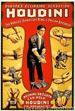 Houdini Poster Fine Art S2 Lithograph