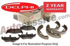 Toyota Aygo Front Delphi Brake Pads & Rear Shoes 1.0 1.4 D-4D D4D 2005-