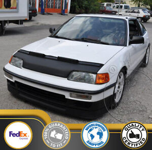 Car Bonnet Hood Bra Fits Honda Civic CRX 88 89 90 91 1988 1989 1990 1991 HX