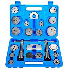 18pc Brake Piston Calliper Wind-Back Tool Kit  Left and Right Hand Universal Set