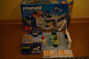Playmobil 4346 Tierarzt Praxis Tiere untersuchen * Röntgen *Originalkarton
