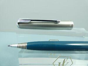 "Vintage Parker 51 Teal Repeater Pencil, CT, Lustraloy Cap, Working  ""MINT"""