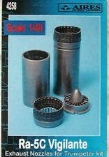Aires 1/48  RA-5C Vigilante Exhaust Nozzles for Trumpeter kit # 4258