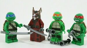 LEGO TEENAGE MUTANT NINJA TURTLES MINIFIGURE JOBLOT SPLINTER 79103 TMNT - VGC