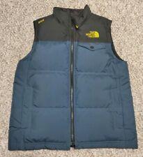 Boys The North Face 550 Goose Down Puffy Vest Jacket Boys Size Medium