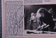 More details for rainbow ritchie blackmore signed joe lynn turner magazine page