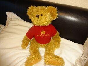 "Channel Island Bears -  Bertie Bear - House of Lords - rare 16"""
