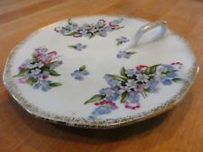 Handled Dish Forget-Me-Nots Use to Serve Lemon Slices at your Next Tea Party