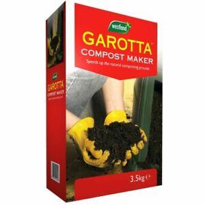 Garotta Compost Maker Active Ingredients Accelerates Composting 3.5kg FREE POST