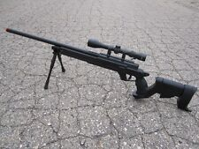 One Well MB04D Metal Bolt Action Type 22 Sniper Rifle With Scope And Bipods