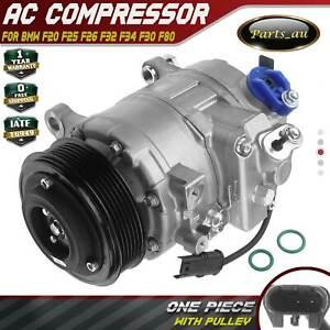 A/C AC Compressor for BMW F20 F25 F26 F32 F34 F30 F80 125i 320i 328i 428i X3 X4