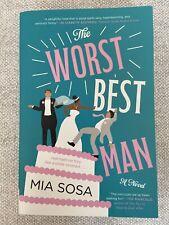 The Worst Best Man A Novel by Mia Sosa (New, Paperback, 2020) Romantic comedy