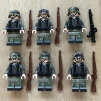 LEGO mini figures WW2 German troops