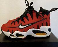 NEW Nike Air Max NM Varsity Red Black Cutout Teeth 429749-600 Mens 6 / Women 7.5