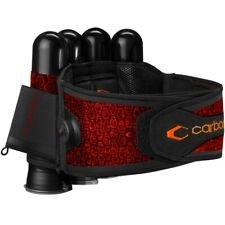 Carbon SC Harness Paintball Battlepack 4+5 (rot)