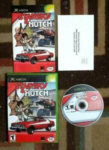 Starsky & Hutch Complete (Microsoft Xbox, 2003) VG Shape & Tested