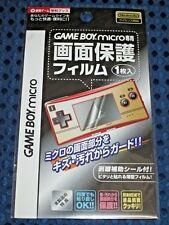 RARE Nintendo Official Game Boy Micro Screen Protect Guard Film Gameboy JAPAN FS