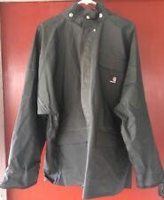 Men's Carhartt 14806 Green Polyvinyl Rain Jacket Coat Sz Large Regular EUC!