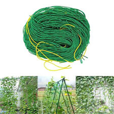 Garden Green Nylon Trellis Netting Support Climbing Bean Plant Net Grow Fence QP
