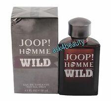 Joop Homme Wild By  Joop  4.2oz/125ml Edt Spray For Men New In Box
