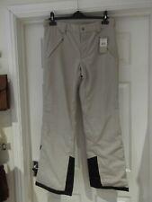 CROSS 'Diamond Cord Pants' NWT Desert/Black Thick/Lined Winter Wear UK Size 14