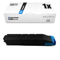 Eurotone ECO Toner CYAN ersetzt Kyocera TK8305 TK-8305 TK-8305C TK8305C TK 8305