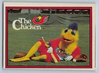 1982  The FAMOUS SAN DIEGO CHICKEN - Donruss Baseball Rookie Card # 531 w/TM