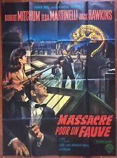 Affiche MASSACRE POUR UN FAUVE Rampage ROBERT MITCHUM Martinelli 120x160cm *