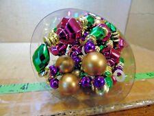 Vintage Garland Lord & Taylor 20 Foot Bead Christmas Holiday #